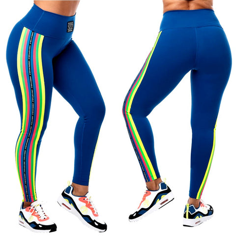For Zumba Lovers High Waisted Ankle Leggings