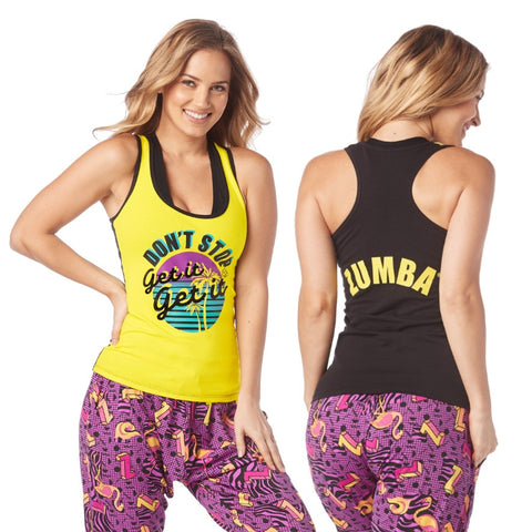 I Want My Zumba Racerback (sizes S, L)