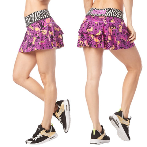 I Want My Zumba Skort (sizes S, M, L)
