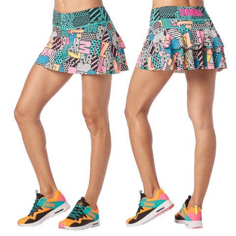 I Want My Zumba Skort (size M)