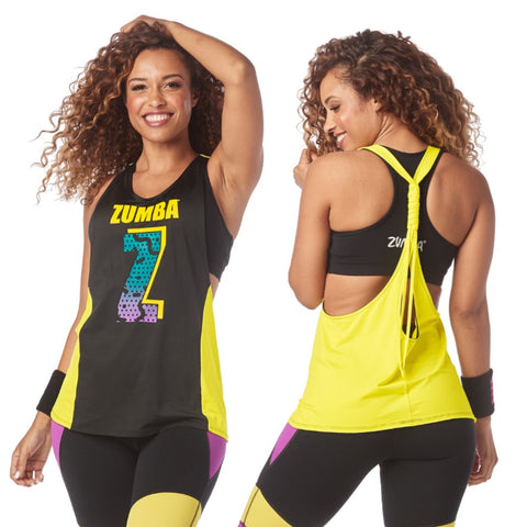 I Want My Zumba Twisted Tank