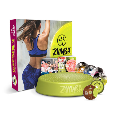 Zumba Incredible Results DVD Set