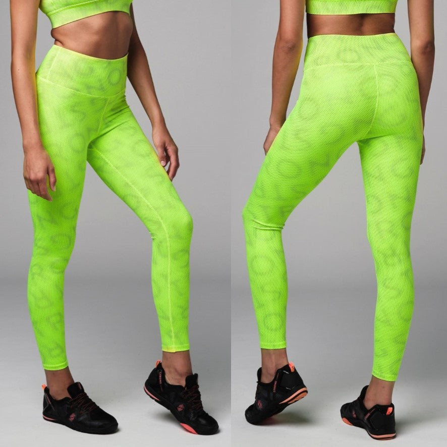 Laser High Waisted Leggings (size S, M)