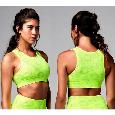 Laser Scoop Bra Top (size S, M)