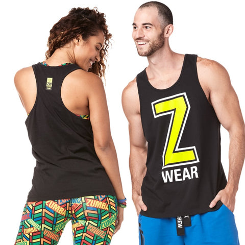 Made With Zumba Love Mens Tank (size S)
