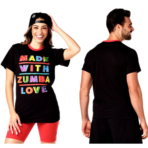 Made With Zumba Love Tee (Pre-Order)