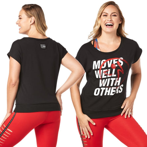 Moves Well With Others Boxy Tank