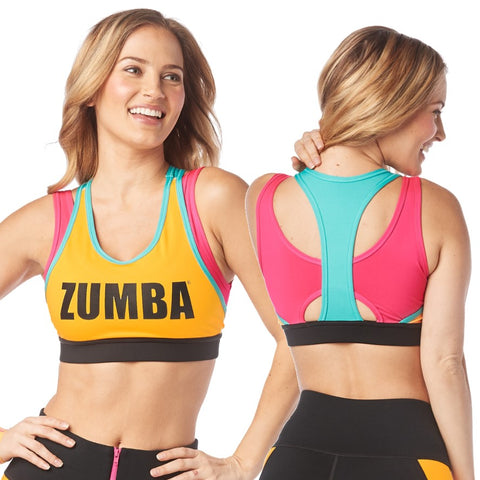My Zumba Scoop Bra (size XS, L, XL)