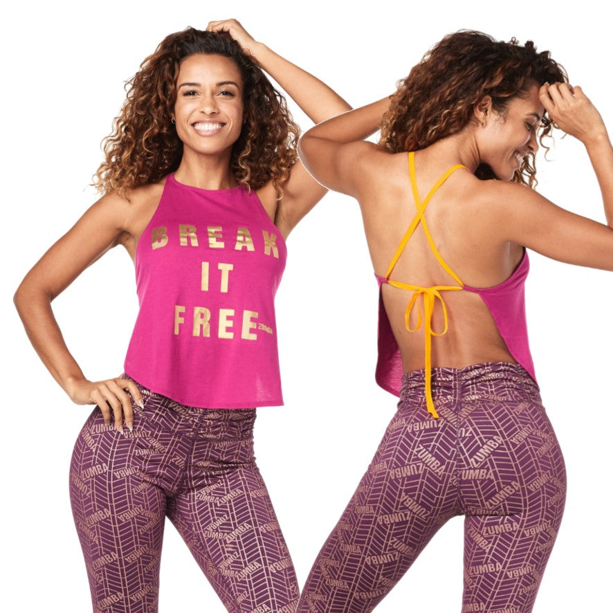 Break It Free Open Back Tank (size M, L, XL)