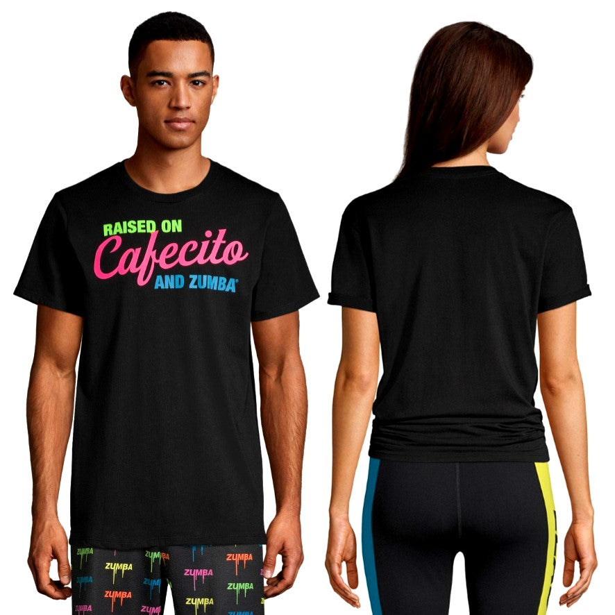 Raised On Cafecito And Zumba Tee (Pre-Order)