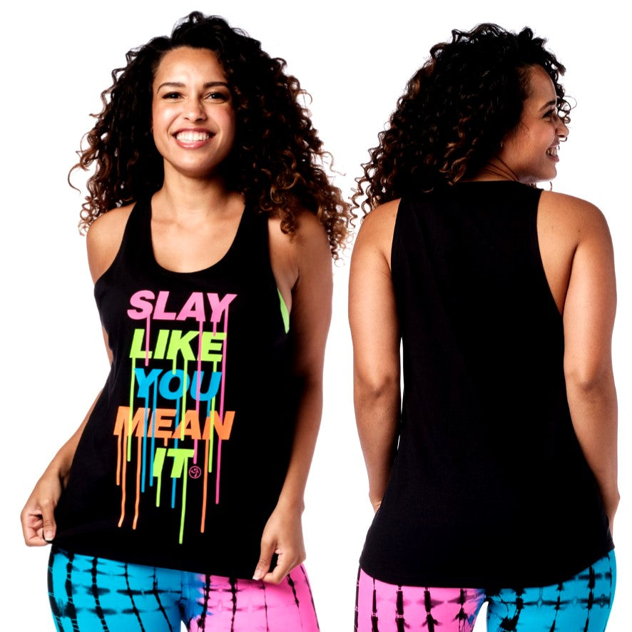 Slay Like You Mean It Tank (size S, M)