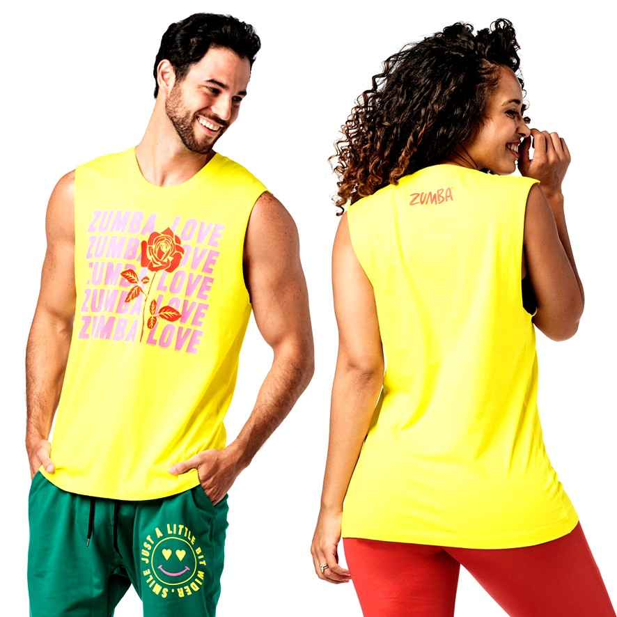 Spread Zumba Love Muscle Tank