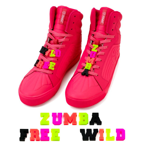 Wild About Zumba Shoe Charms 13pk (AUS)