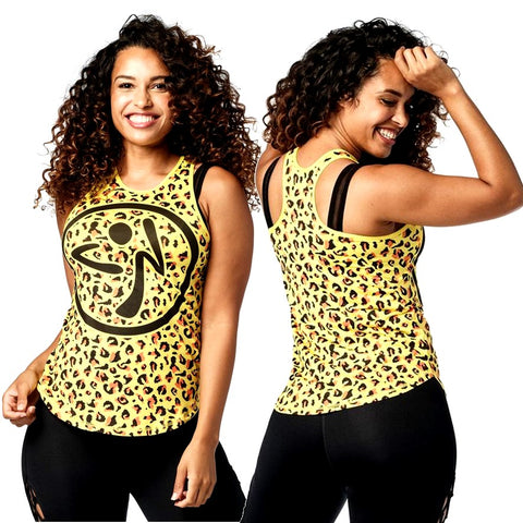 Wild For Zumba High Neck Tank (Pre-Order)