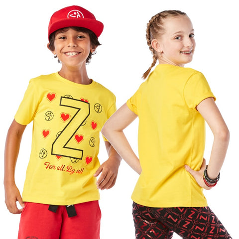 ZW Juniors By All Zumba Tee