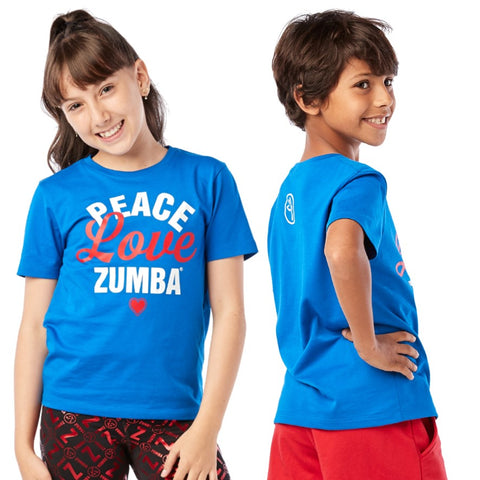 ZW Juniors Love Zumba Tee