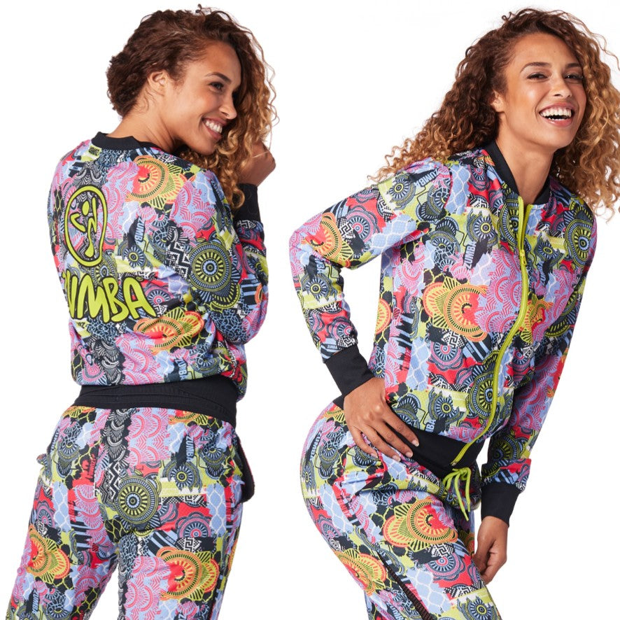Zumba Unity Zip-Up Jacket (sizes S, M & L)