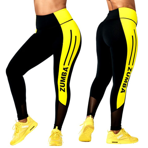 Zumba 01 High Waisted Ankle Leggings (size XS, S)