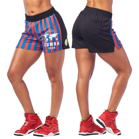 Zumba 2020 Shorts (size L - only 1 left)
