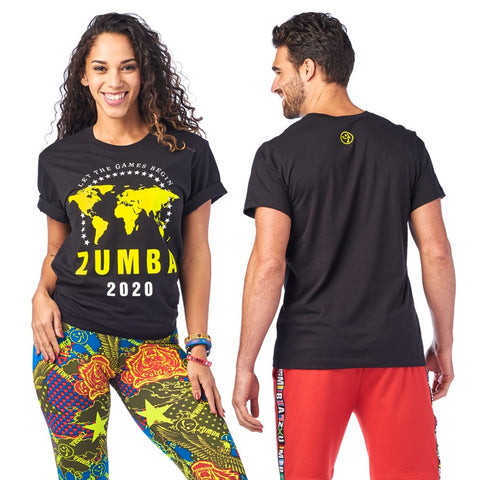 Zumba 2020 Tee (size XS/S - only 1 left)