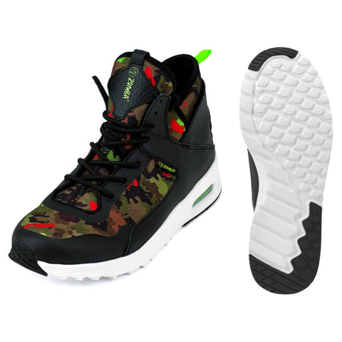 Zumba Air Classic Remix - Black Camo (sizes from 5.5-12)