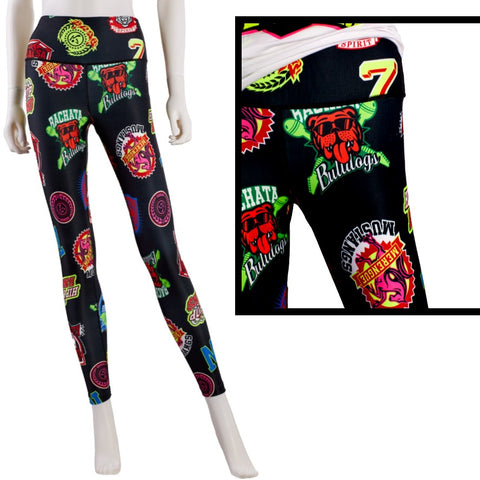 Zumba All Stars High Waisted Ankle Leggings (size XS - only 1 left)