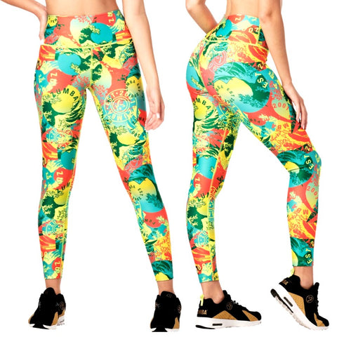 Zumba Classic High Waisted Ankle Leggings (Pre-Order)