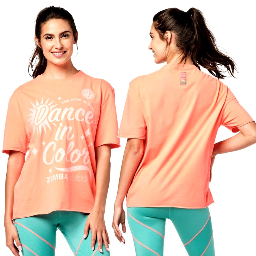 Zumba Dance In Colour Top