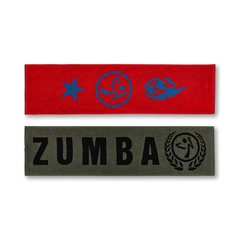 Zumba Dance League Fitness Towels 2 PK