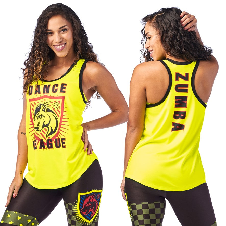 Zumba Dance League Jersey Tank (size M, L, XL, XXL)