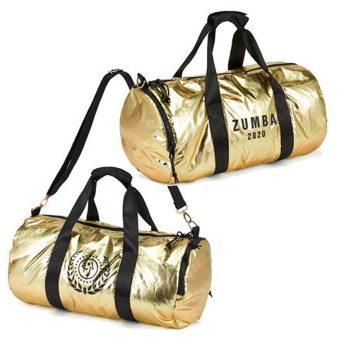 Zumba Dance League Metallic Duffle Bag