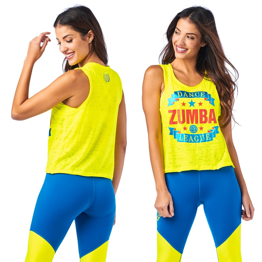 Zumba Dance League Tank (size XL)