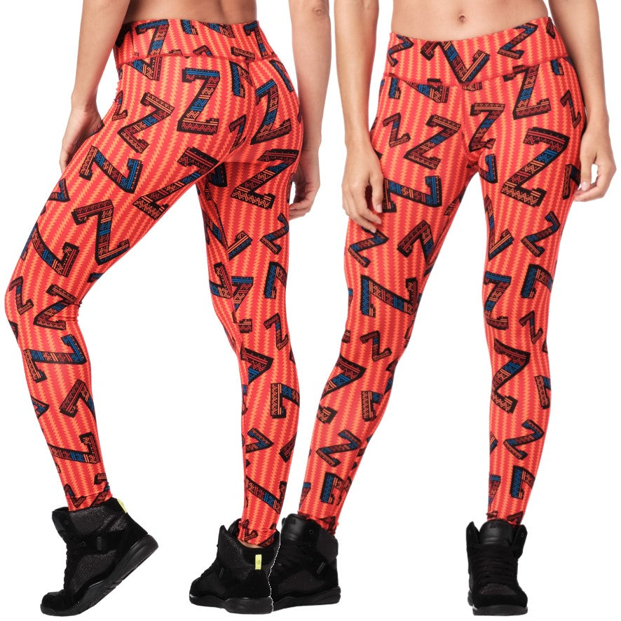Zumba Dance Tribe Perfect Ankle Leggings