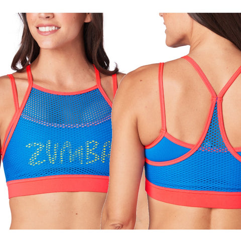 Zumba Double Layer Scoop Bra (size XL - only 1 left)