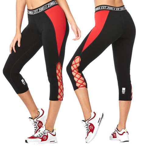 Zumba Est 2001 Crop Leggings (size XS)