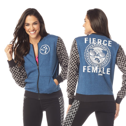 Zumba Fierce Female Jacket (sizes M & L)