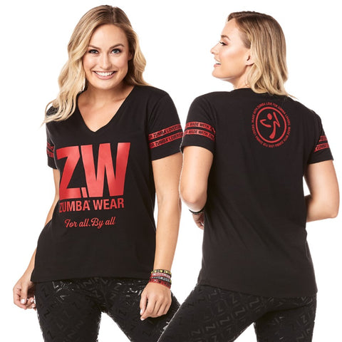 Zumba For All By All Top (sizes XS, L)