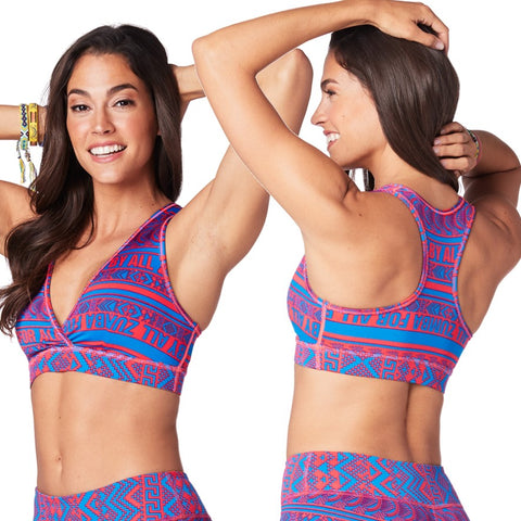 Zumba For All V Bra (size S)