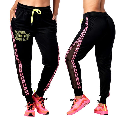 Zumba Fresh Vibes Sweatpants (size XS, L)