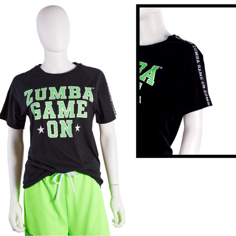 Zumba Game On Men's Tee (size M - only 1 left)