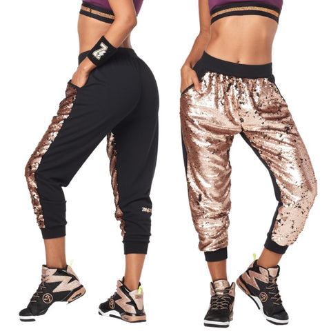 Zumba Glitz And Glam Capri Sweatpants