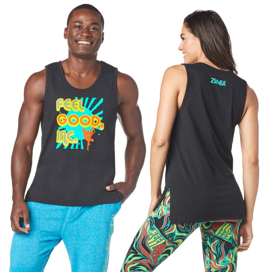 Zumba Groovy Mens Tank (size S)
