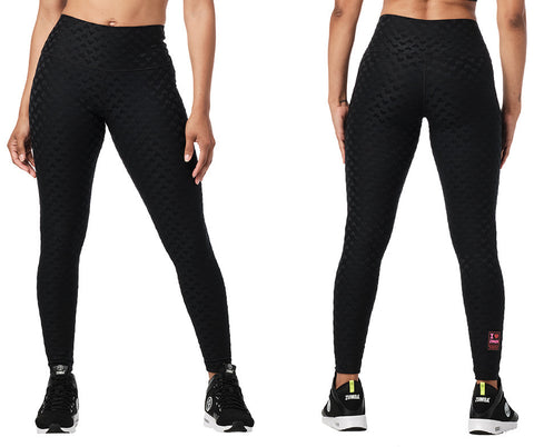 Zumba Love High Waisted Ankle Leggings
