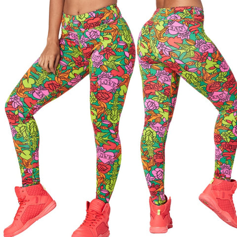 Zumba Love Long Leggings (size M, L, XL)