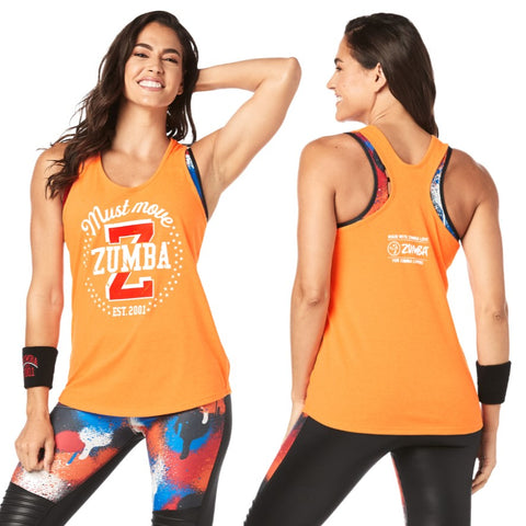 Zumba Must Move Tank (size XS - only 1 left)