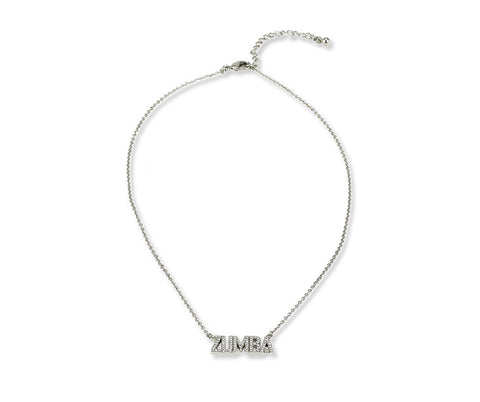 Zumba Necklace With Swarovski® Crystals (Pre-Order)