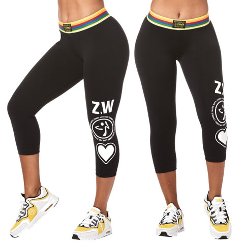 Zumba Next Level Capri Leggings (size XS)