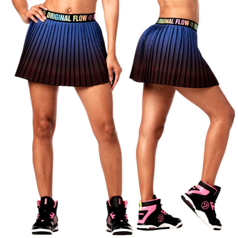 Zumba Original Flow Pleated Skort (size S - only 1 left)