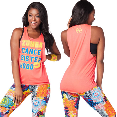 Zumba Sisterhood Loose Tank