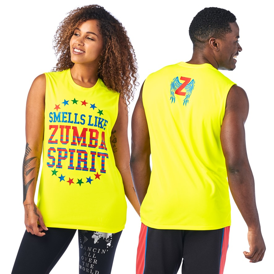 Zumba Spirit Mens Muscle Tank